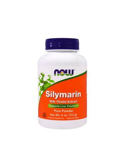 Now Foods Mariendistel (Silymarin), reines Pulver 113 g