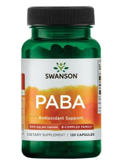 Swanson PABA 500 mg 120 Kapseln