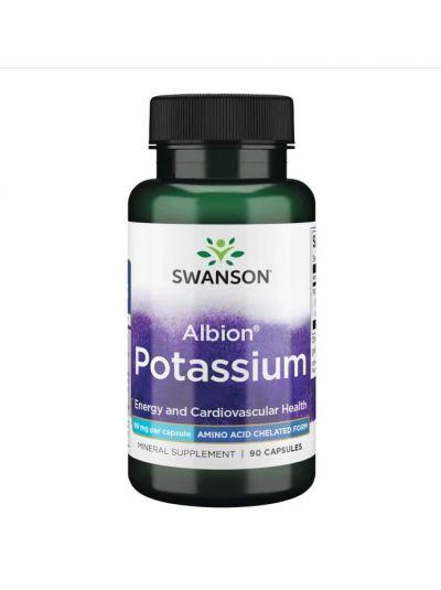 Swanson Ultra-Albion chelatisiertes Kalium 99 mg 90 Kapseln