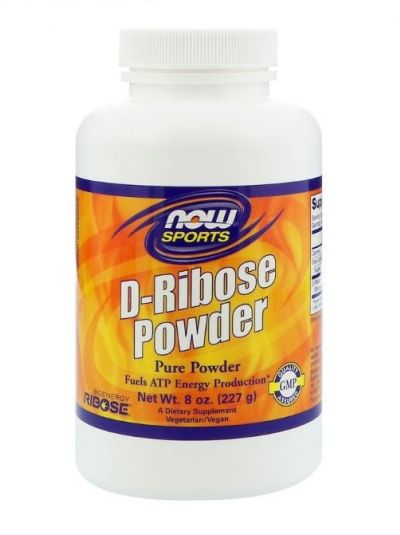 NOW FOODS D-RIBOSE Pulver 227g