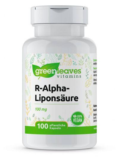 Green Leaves R-Alpha-Liponsäure 100 mg 100 vegetabilische Kapseln