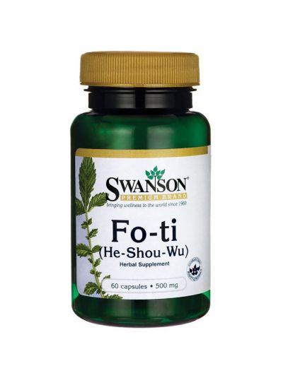 Swanson  Fo-Ti (He-Shou-Wu) 500mg - 60 caps