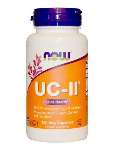 Now Foods UC-II Nichtdenaturiertes Kollagen Typ II 120 vegetarische Kapseln