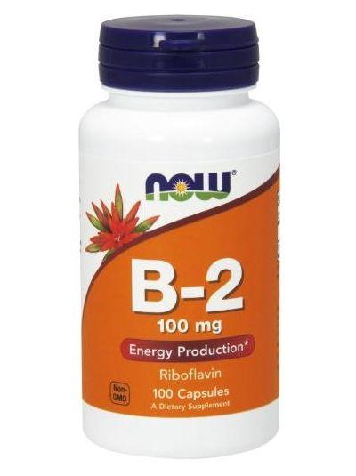 Now Foods Riboflavin B2 100 mg 100 Kapseln