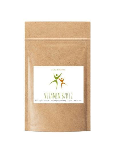 Vitalundfitmit100 Vitamin B Komplex/B12 Kapseln 120 vegetarische Kapseln à 230 mg
