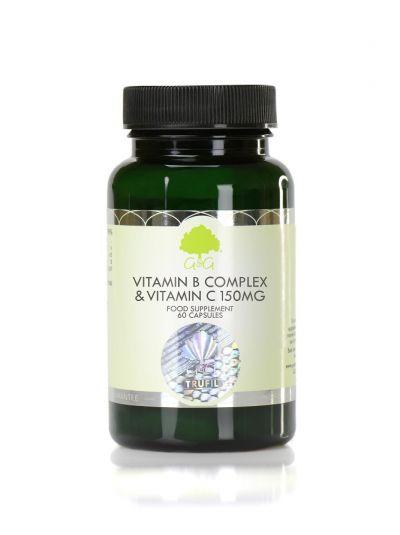 G&G VITAMINS Vitamin B-Komplex und Vitamin C 150 mg 60 Kapseln