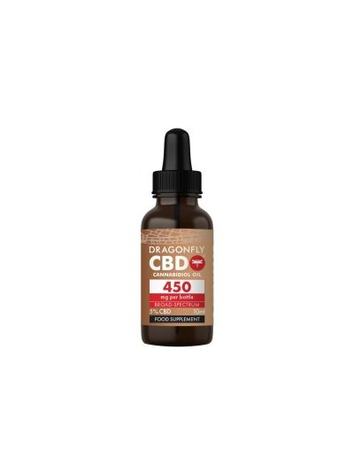 Dragonfly CBD Cannabidiolöl Cannabis Breit-Spectrum 450 mg 5% - 10ml
