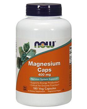 Now Foods Magnesium 400 mg 180 Kapseln