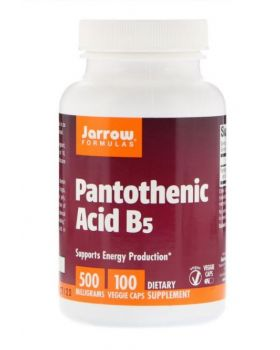 Jarrow Formulas, Pantothensäure B5, 500 mg, 100 Vegetarische Kapseln