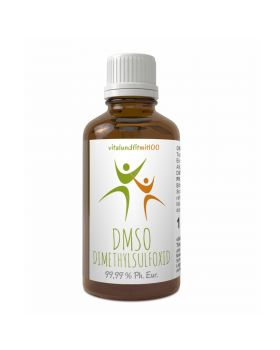 Vitalundfitmit100 DMSO Dimethylsulfoxid 99,9 % (Ph. Eur.) in Braunglas 100-250 ml