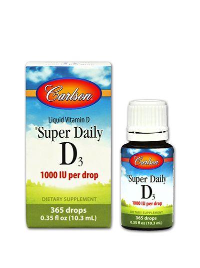 Carlson Labs Vitamin D3 Tropfen 1000 IU