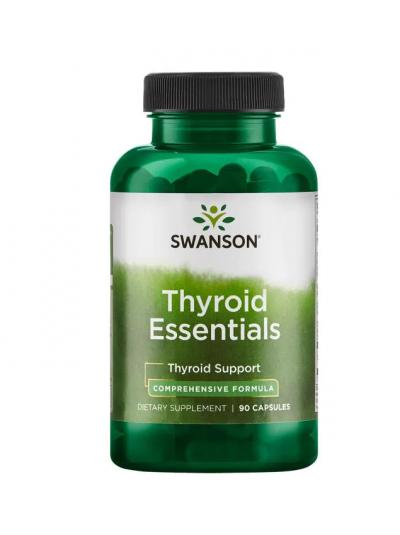 SWANSON THYROID ESSENTIALS Schilddrüsen-Essentials 90 Kapseln