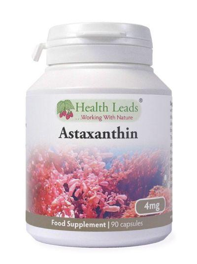 Health Leads Astaxanthin 4mg x 90 Kapseln