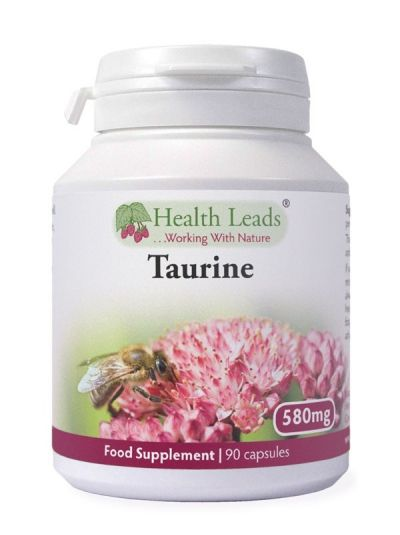 Health Leads Taurine 580mg x 90 capsules
