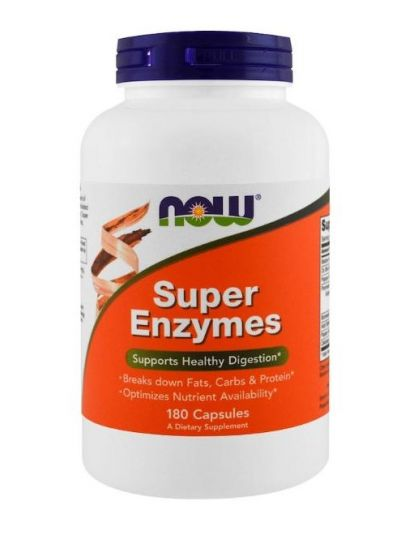 Now Foods Super-Enzyme 180 Kapseln