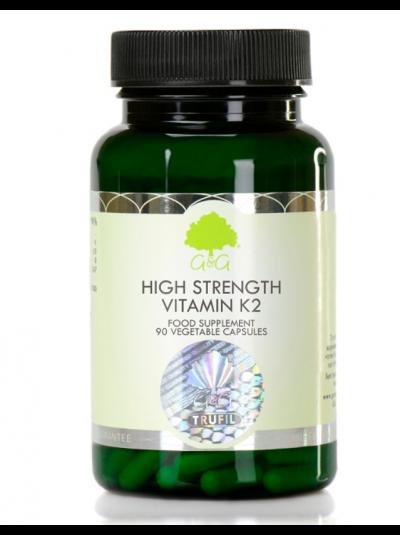 G&G Vitamins HOCHFESTES VITAMIN K2 200ΜG - 90 KAPSELN