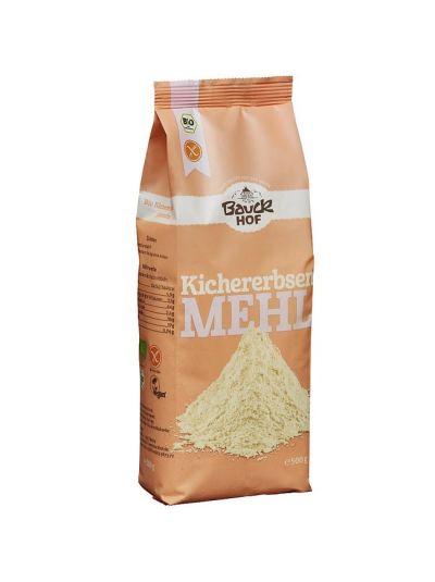 Bauckhof Bio Kichererbsen-mehl, glutenfrei 500g