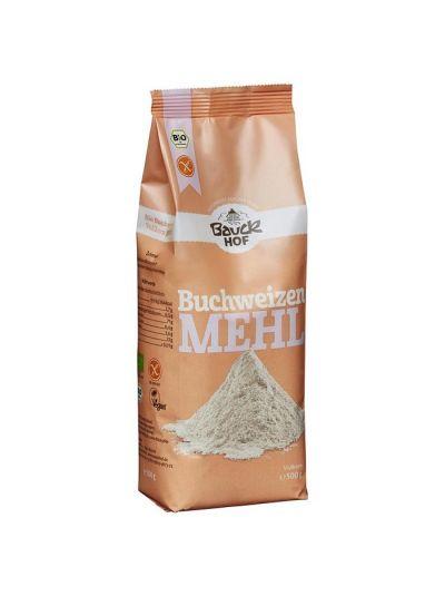 Bauckhof Bio Buchweizenmehl Vollkorn, glutenfrei 500g