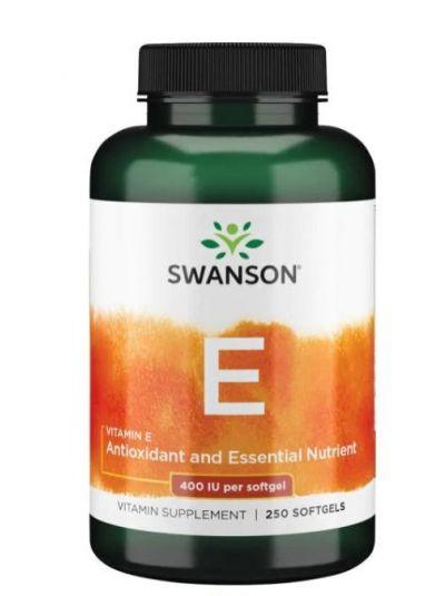Swanson Vitamin E 400 IU 250 Softgels