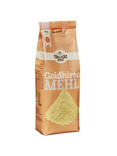 Bauckhof Gold-Hirse-Mehl Vollkorn, glutenfrei Demeter 425g