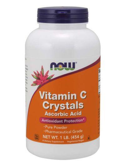 Now Foods Vitamin C-Kristalle 454 g
