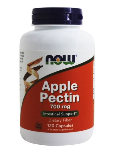 Now Foods Apfel-pektin 700 mg 120 Kapseln