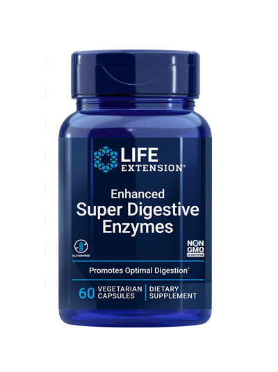 Life Extension Verbesserte Super Digestive Enzyme - 60 Gemüsekappen