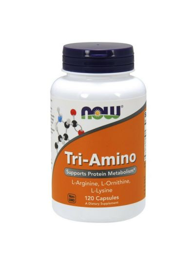 Now Foods Tri-Amino 120 Kapseln