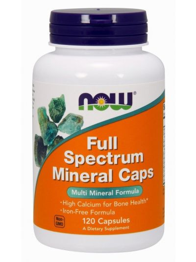 Now Foods Full Spectrum Mineralienkapseln 120 Kapseln