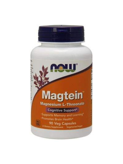 Now Foods Magtein (Magnesium L-Threonat) 90 vegetarische Kapseln