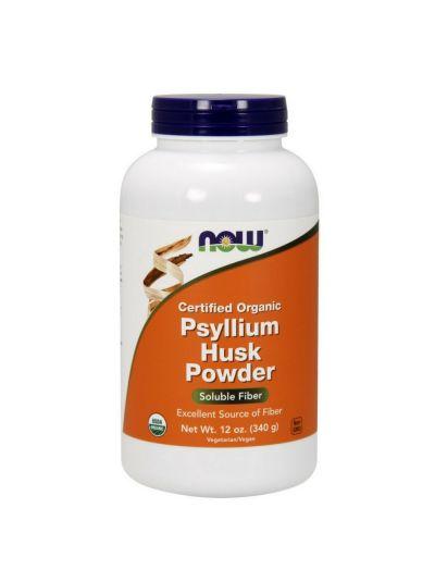 Now Foods Psyllium Husk Flohsamen Pulver 340 g