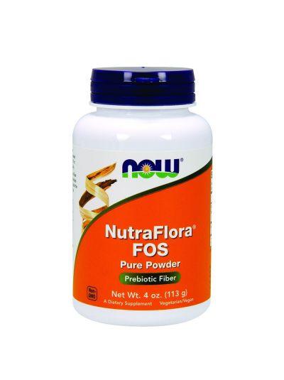 Now Foods NutraFlora FOS Inulin Pulver 113 g