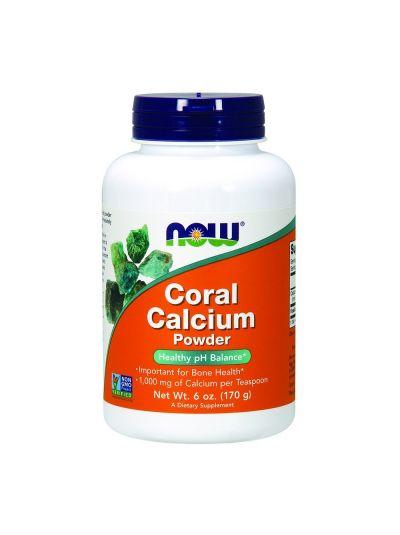Now Foods Koralle Kalzium Pulver 170 g