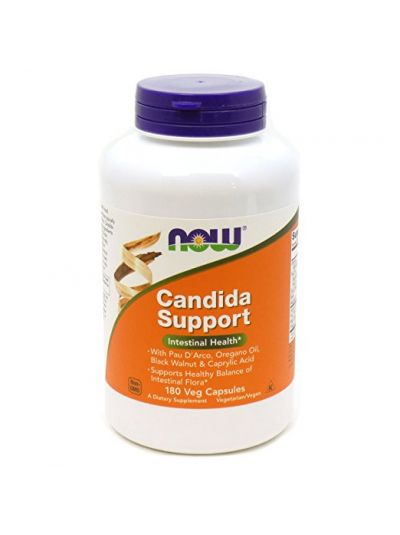 Now Foods Candida Support 180 Veg. Kapseln
