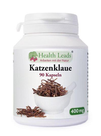 Health Leads Katzenklaue Tomentosa 400 mg x 90 Kapseln