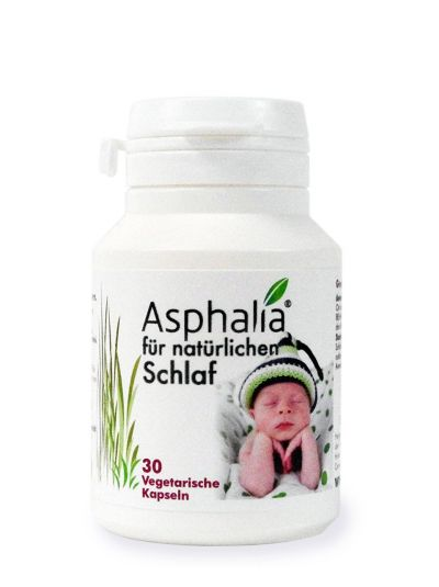 Health Leads Asphalia für natürlichen Schlaf 30 Kaps (1 Monat Vorrat)