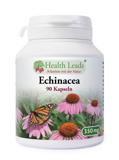 Health Leads Echinacea 350 mg x 90 Kapseln