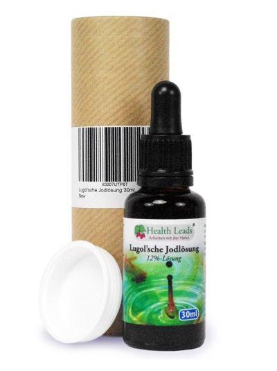 Health Leads Lugol'sche Jodlösung 30ml (Jod / Iodine) 12%