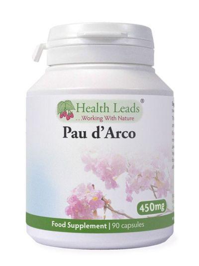 HEALTH LEADS PAU D'ARCO 450MG X 90 KAPSELN