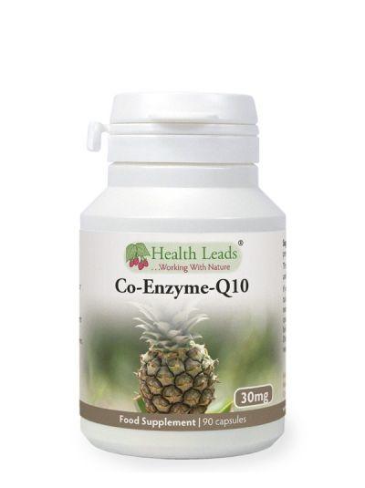 Health Leads Co Enzym Q10 Ubiquione 30mg x 90 Kapseln
