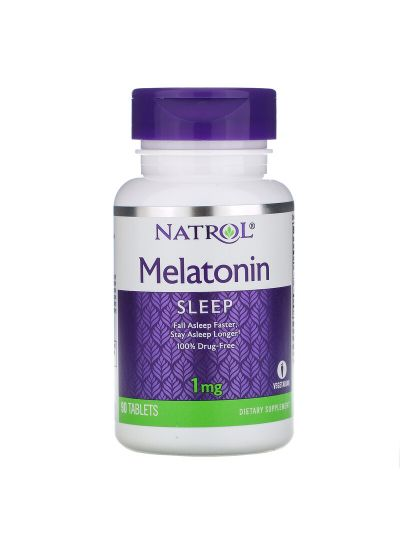 Natrol Melatonin 1 mg, 90 Tabletten