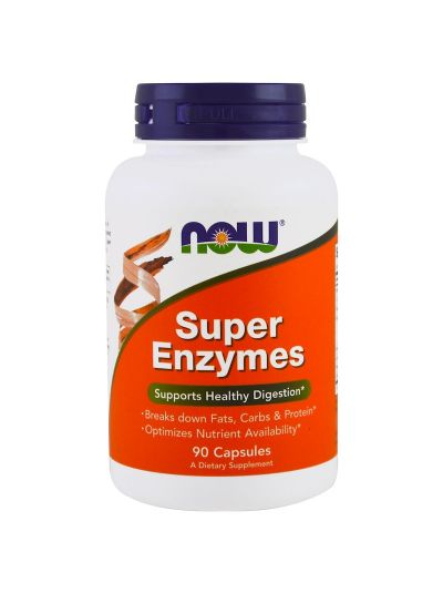 Now Foods Super Enzyme 90 Kapseln