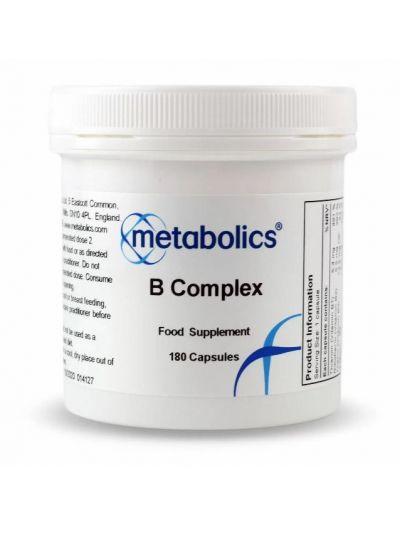 Metabolics Vitamin B complex (sehr Bioverfügbar) 180 Kapseln