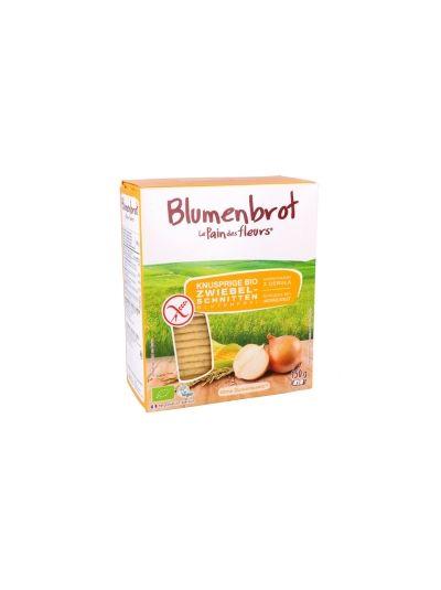 BLUMENBROT zwiebel-SCHNITTEN Bio 150G