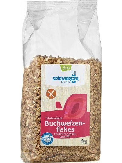 SPIELBERGER MÜHLE BIO GLUTENFREIE Buchweizenflakes ungesüßt 250g