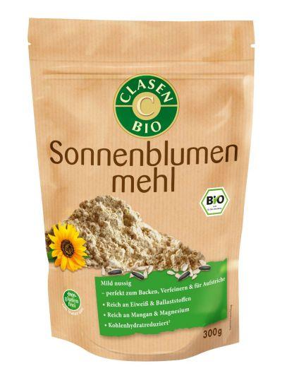 Clasen Bio Sonnenblumenmehl 300g