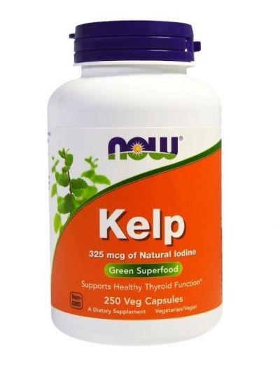 Now Foods Kelp Grünes Superfood 250 vegetarische Kapseln