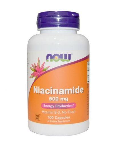 Now Foods Niacinamid 500 mg 100 Kapseln