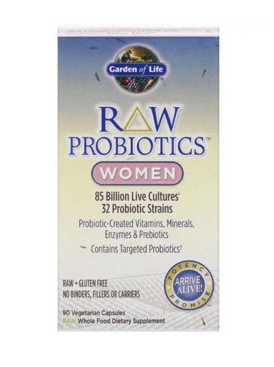 Garden of Life RAW Probiotika für Frauen 90 vegetarische Kapseln