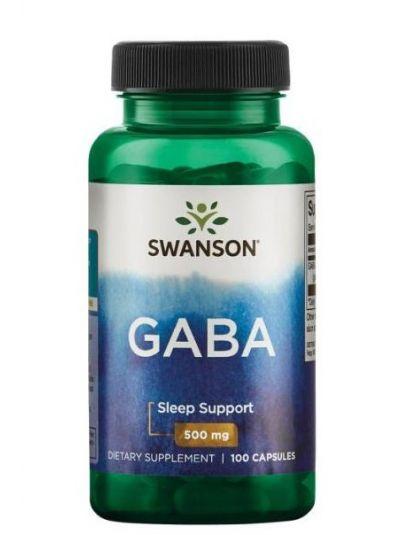 Swanson GABA 500 mg 100 Kapseln